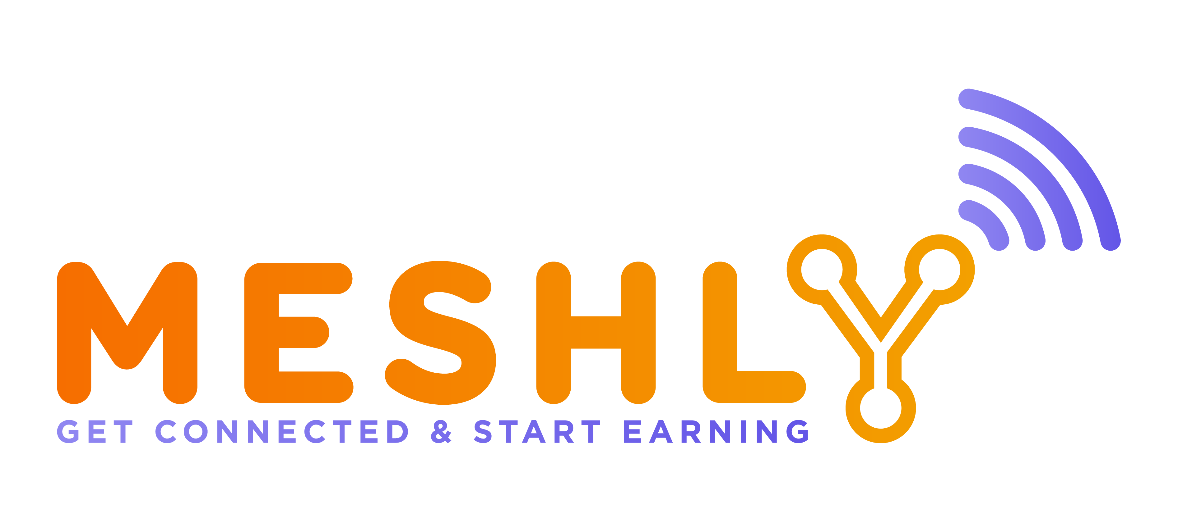 Meshly Logo Transparent Background